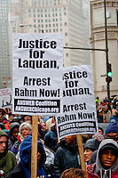 Protesting the Killing of Laquan McDonald Chicago 11-27-15