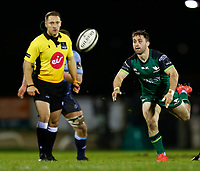 20th February 2021; Galway Sportsgrounds, Galway, Connacht, Ireland; Guinness Pro 14 Rugby, Connacht versus Cardiff Blues; Connacht scrum half Caolin Blade plays the ball out of a ruck
