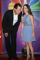 Bill Pullman and Martha MacIsaac at NBC's Upfront Presentation at Radio City Music Hall on May 14, 2012 in New York City. ©RW/MediaPunch Inc.