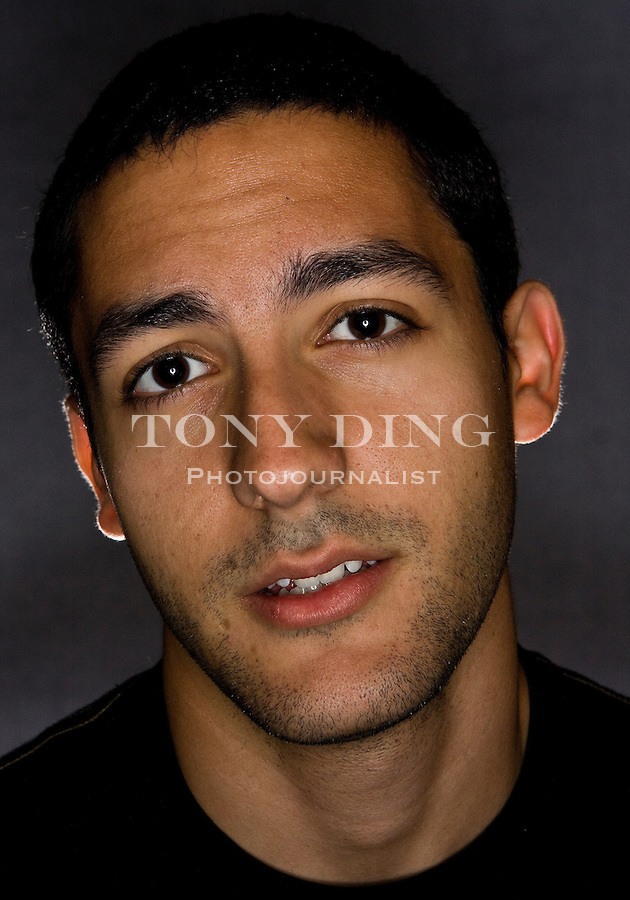 1 November 2008: Said Alsalah poses for photos at in Ann Arbor, MI. (Photo by Tony Ding)
