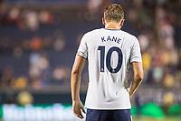 Orlando, FL - Saturday July 22, 2017: Harry Kane during the International Champions Cup (ICC) match between the Tottenham Hotspurs and Paris Saint-Germain F.C. (PSG) at Camping World Stadium.