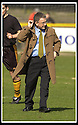 06/04/2002                 Copyright Pic : James Stewart .Ref :     .File Name : stewart-alloa v qos   08.MANAGER CHRISTIE DECIDES TO WEAR HIS LUCKY DUFFLECOAT IN THE SPRING SUN PRIOR TO THE START OF THE GAME.......James Stewart Photo Agency, 19 Carronlea Drive, Falkirk. FK2 8DN      Vat Reg No. 607 6932 25.Office     : +44 (0)1324 570906     .Mobile  : + 44 (0)7721 416997.Fax         :  +44 (0)1324 630007.E-mail  :  jim@jspa.co.uk.If you require further information then contact Jim Stewart on any of the numbers above.........