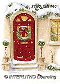 Marcello, CHRISTMAS SYMBOLS, WEIHNACHTEN SYMBOLE, NAVIDAD SÍMBOLOS, paintings+++++,ITMCXM1440,#XX# ,Christmas wreath