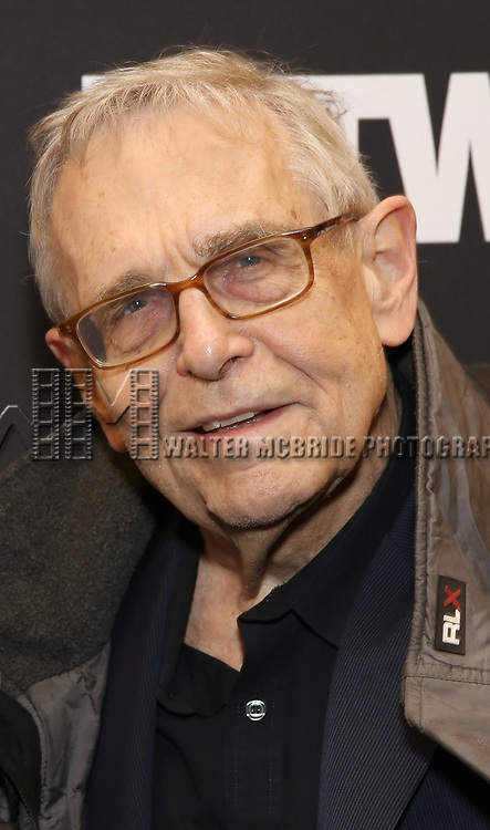 """Richard Maltby Jr. attends the Broadway Opening Night Performance  for """"Network"""" at the Belasco Theatre on December 6, 2018 in New York City."""