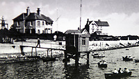 BNPS.co.uk (01202 558833)<br /> Pic: IrisMorris/BNPS<br /> <br /> The Haven Hotel is pictured to the right of Marconi's mast in the early 1900s.<br /> <br /> Over 6,200 letters of objection have been lodged against controversial plans to replace a historic hotel with a 'soulless' block of flats at a millionaire's playground.<br /> <br /> The well-heeled residents of Sandbanks are up in arms about the £250million development which would see the Haven Hotel at the entrance to Poole Harbour in Dorset bulldozed.<br /> <br /> The 141-year-old building is where engineer Guglielmo Marconi established the world's first wireless communications. Under the plans, it would be replaced with a six-storey block of 119 luxury apartments.