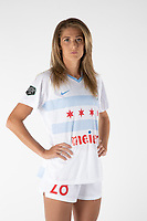 NWSL Chicago Red Stars Portrait Shoot Kayla Sharples