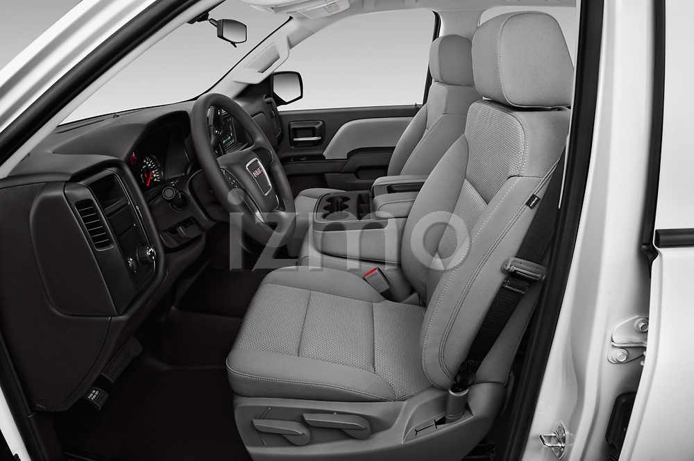 Front seat view of a 2019 GMC Sierra 1500 Limited Base 4 Door Pick Up front seat car photos