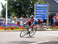 Australia's Samuel Volkers (Data #3 Cisco). UCI Oceania Tour - NZ Cycle Classic stage two - Masterton to Martinborough circuit in Wairarapa, New Zealand on Thursday, 21 January 2016. Photo: Dave Lintott / lintottphoto.co.nz