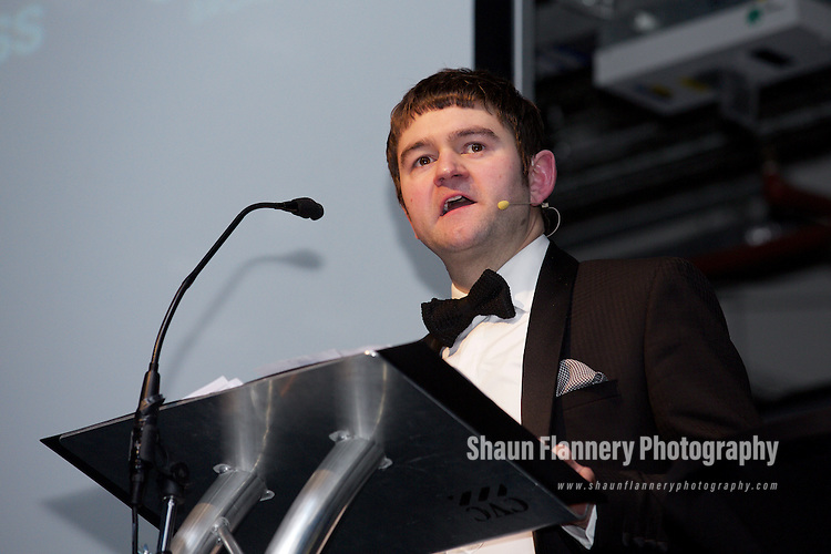 Pix: Shaun Flannery/shaunflanneryphotography.com<br /> <br /> COPYRIGHT PICTURE>>SHAUN FLANNERY>01302-570814>>07778315553>><br /> <br /> 8th December 2016<br /> Doncaster Business Awards 2016<br /> <br /> Dan Fell, CEO, Doncaster Chamber
