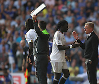 during the Barclays Premier League match between  Chelsea and Swansea  played at Stamford Bridge, London
