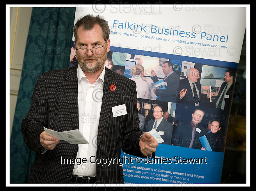 04/11/2008  Copyright Pic: James Stewart.File Name : 16_charan_gill.FALKIRK BUSINESS PANEL :: TALK BUSINESS :: ALISTAIR MITCHELL GIVES THE VOTE OF THANKS TO CHARAN GILL MBE.James Stewart Photo Agency 19 Carronlea Drive, Falkirk. FK2 8DN      Vat Reg No. 607 6932 25.Studio      : +44 (0)1324 611191 .Mobile      : +44 (0)7721 416997.E-mail  :  jim@jspa.co.uk.If you require further information then contact Jim Stewart on any of the numbers above.........