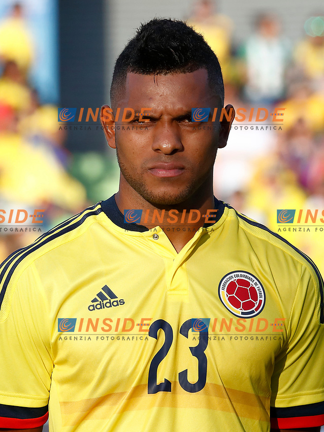 Colombia's Miguel Borja during international friendly match. June 13,2017.(ALTERPHOTOS/Acero/Insidefoto)<br /> Camerun - Colombia <br /> Foto Acero/Alterphotos/Insidefoto <br /> ITALY ONLY