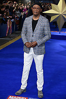"""Samuel L Jackson<br /> arriving for the """"Captain Marvel"""" European premiere at the Curzon Mayfair, London<br /> <br /> ©Ash Knotek  D3484  27/02/2019"""