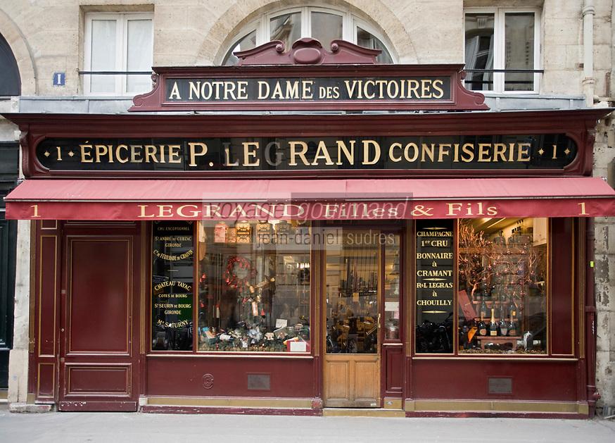 Europe/France/Ile-de-France/75002/Paris: Epicerie fine, Caviste 1 rue de la Banque