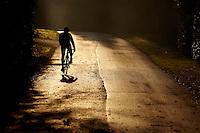 Sam Behr  riding Carrera road bike , , Surrey  , November 2011 pic copyright Steve Behr / Stockfile