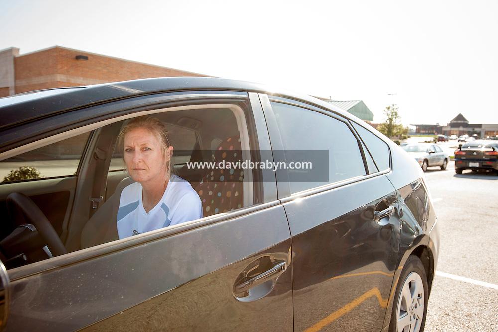 HSUL 20140819 United States, Crestwood, MO. Kate Rice, Crestwood Court, St Louis, MO, August 19, 2014. Photographer: David Brabyn
