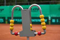 August 6, 2014, Netherlands, Rotterdam, TV Victoria, Tennis, National Junior Championships, NJK,  score <br /> Photo: Tennisimages/Henk Koster