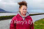 Maura Harris enjoying a stroll in Lohercannon on Thursday.