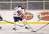 Matthew Barnaby (36) during The Frozen Frontier Buffalo Sabres vs. Rochester Amerks Alumni Game at Frontier Field on December 15, 2013 in Rochester, New York.  (Copyright Mike Janes Photography)