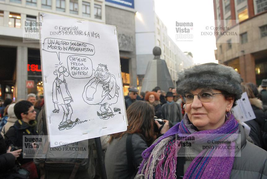 - women demonstration in defense of law 194 on the abortion..-  manifestazione donne in difesa della legge 194 sull'aborto