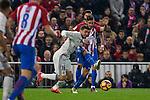Real Madrid's Mateo Kovacic Atletico de Madrid's Koke Resurrecccion during the match of La Liga between Atletico de Madrid and Real Madrid at Vicente Calderon Stadium  in Madrid , Spain. November 19, 2016. (ALTERPHOTOS/Rodrigo Jimenez)