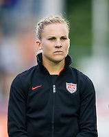 Amy Rodriguez. The USWNT defeated Japan, 2-0,  at WakeMed Soccer Park in Cary, NC.