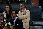 Ion Tiriac during the Mutua Madrid Open Masters match on day eight at Caja Magica in Madrid, Spain.May 11, 2019. (ALTERPHOTOS/A. Perez Meca)