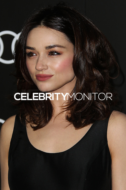 LOS ANGELES, CA - JANUARY 09: Crystal Reed at the Audi Golden Globe Awards 2014 Cocktail Party held at Cecconi's Restaurant on January 9, 2014 in Los Angeles, California. (Photo by Xavier Collin/Celebrity Monitor)