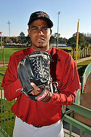 Feb 25, 2010; Kissimmee, FL, USA; The Houston Astros pitcher Alberto Arias (50) during photoday at Osceola County Stadium. Mandatory Credit: Tomasso De Rosa/ Four Seam Images