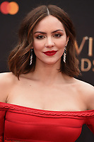 Kathryn McPhee<br /> arriving for the Olivier Awards 2019 at the Royal Albert Hall, London<br /> <br /> ©Ash Knotek  D3492  07/04/2019
