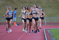 Katherine Camp (463) runs to victory in the elite women's 800m. 2021 Capital Classic athletics at Newtown Park in Wellington, New Zealand on Saturday, 20 February 2021. Photo: Dave Lintott / lintottphoto.co.nz