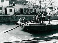 Boot in Yixing, China 1989