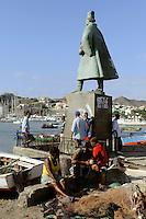 Denkmal Diogo Alfonso, Mindelo, Sao Vicente, Kapverden, Afrika