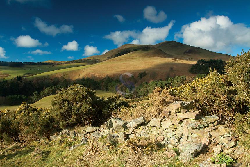 Turnhouse Hill from the Glencorse Viewpoint Walk, The Pentland Hills Regional Park, Lothian