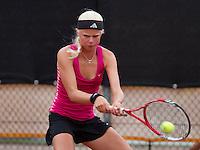 07-08-13, Netherlands, Rotterdam,  TV Victoria, Tennis, NJK 2013, National Junior Tennis Championships 2013, Eva Vedder<br /> <br /> <br /> Photo: Henk Koster