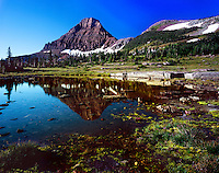 """Sunrise at Logan Pass""<br />