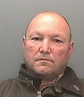 Pictured: Thomas Price<br /> Re: Horse trader Thomas Price who was convicted of causing unnecessary suffering to animals, has been jailed and banned for life from keeping animals by Merthyr Tydfil Magistrates' Court, Wales, UK.<br /> Price, 56, of Bonvilston, Vale of Glamorgan, was sentenced to six months in a case brought by three councils.<br /> A total of 240 horses were taken into care after they were found in atrocious conditions the court heard.<br /> A flock of sheep in a poor state of health was also rescued.