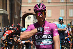 Maglia Ciclamino Peter Sagan (SVK) Bora-Hansgrohe lines up for the start of Stage 13 of the 2021 Giro d'Italia, running 198km from Ravenna to Verona, Italy. 21st May 2021.  <br /> Picture: LaPresse/Marco Alpozzi | Cyclefile<br /> <br /> All photos usage must carry mandatory copyright credit (© Cyclefile | LaPresse/Marco Alpozzi)