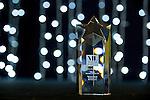 © Joel Goodman - 07973 332324 . 05/03/2015 .  Midland Hotel , Manchester , UK . Lifetime Achievement Award given to Michael Redfern QC . The Manchester Legal Awards 2015 . Photo credit : Joel Goodman