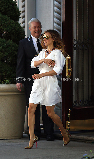 WWW.ACEPIXS.COM . . . . .  ....September 1 2009, New York City....Actress Sarah Jessica Parker on the set of the new 'Sex and the City 2' movie on the Upper East side of Manhattan on September 1 2009 in New York City....Please byline: AJ Sokalner - ACEPIXS.COM..... *** ***..Ace Pictures, Inc:  ..tel: (212) 243 8787..e-mail: info@acepixs.com..web: http://www.acepixs.com