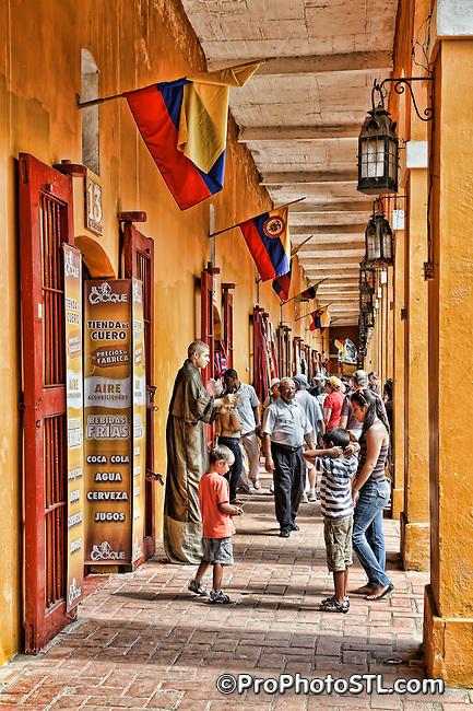 Cartagena city in Colombia