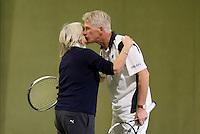 March 5, 2015, Netherlands, Hilversum, Tulip Tennis Center, NOVK, mixed doubles<br /> Photo: Tennisimages/Henk Koster