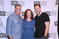 NEW YORK, NY- SEPTEMBER 14: Robert Cuccioli, Karen Ziemba and David Staller attend the photo call for the Off-Broadway play Mrs. Warren's Profession, held at the Ginghold Theatrical Group, on September 14, 2021, in New York City. Credit: Joseph Marzullo/MediaPunch