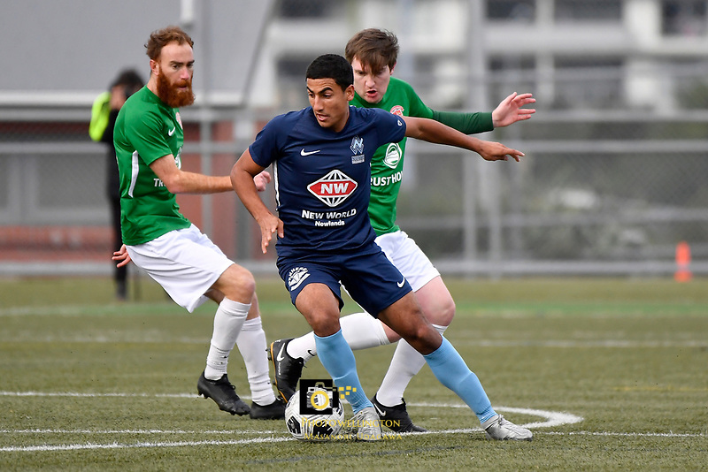 Ahmed Othman of the North Wellington FC during the Central League Football -  North Wellington FC v Wairarapa United at Alex Moore Park ( Alex Moore Artificial) / Johnsonville / New Zealand on Saturday 29 May 2021.<br /> Copyright photo: Masanori Udagawa /  www.photosport.nz