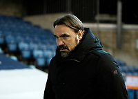 2nd February 2021; The Den, Bermondsey, London, England; English Championship Football, Millwall Football Club versus Norwich City; Daniel Farke of Norwich City walking towards the dugout for the 2nd half