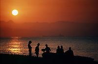 Fishermen, Torremolinos, Spain