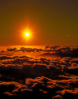 Sunrise, Haleakala National Park, Maui