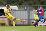 Inverness Caley Thistle v St Johnstone…27.08.16..  Tulloch Stadium  SPFL<br />Chris Kane shoots wide of the post<br />Picture by Graeme Hart.<br />Copyright Perthshire Picture Agency<br />Tel: 01738 623350  Mobile: 07990 594431