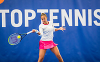 Amstelveen, Netherlands, 20  December, 2020, National Tennis Center, NTC, NK Indoor, National  Indoor Tennis Championships, Final womans single  :   	<br /> Lesley Pattinama-Kerkhove (NED) <br /> Photo: Henk Koster/tennisimages.com