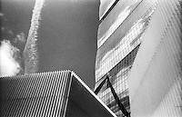 Milano, quartiere CityLife. Particolare della Torre Isozaki --- Milan, CityLife district. Isozaki Tower, detail.